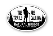 Wholesale The Trails Are Calling Hiker 4x6 Sticker