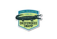 Wholesale Alligator Emblem Die Cut Sticker