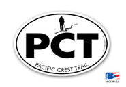 Pacific Crest Trail Classic Hiking Sticker