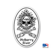 Mulberry River Sticker
