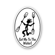 Wholesale Paddler Sticker