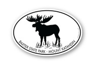 Wholesale Moose in Water Sticker