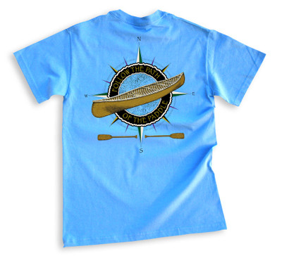 Carolina Blue Tee Back