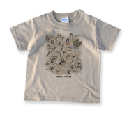 Animal Tracks Kids' T-shirt