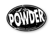 Wholesale Splatter Background Slanted Powder Sticker