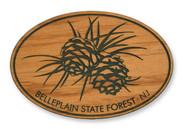 Wholesale Pine Cones Wooden Magnet
