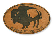 Wholesale Buffalo Wooden Magnet
