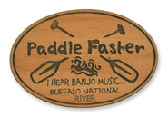 Wholesale Paddle Faster Wooden Magnet