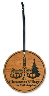 "3"" Custom Christmas Village Ornament"