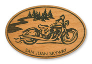 Wholesale Cruiser Wooden Magnet