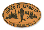 Wholesale Hiked It Wooden Magnet