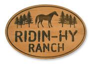 Wholesale Trail Horse Wooden Magnet