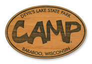 Wholesale Funky Camp Wooden Magnet