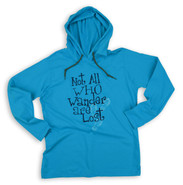 Women's Not All Who Wander Hiking Hoodie