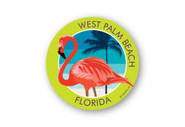 Wholesale Flamingo Sticker