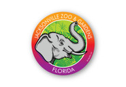 Wholesale Elephant Head Sticker