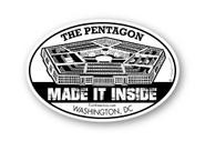 Wholesale Made It Inside the Pentagon Sticker