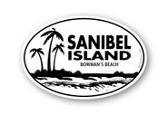 Wholesale Beach and Palm Trees Sticker