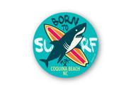 Wholesale Born to Surf Sticker