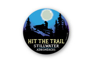 Wholesale Moonlight Snowmobile Sticker
