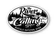 Wholesale The River Is Calling Oval Sticker