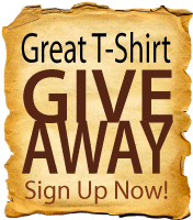 Great Tee Shirt Giveaway