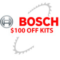 Bosch $100.00 Off Kits<