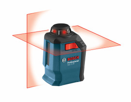 Bosch GLL2-20 - 360° Horizontal Cross-Line Laser