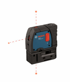 Bosch GPL3 - 3-Point Self-Leveling Alignment Laser