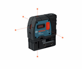 Bosch GPL5 - 5-Point Self-Leveling Alignment Laser
