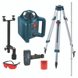 Bosch GRL245HVCK - Self-Leveling Rotary Laser Kit