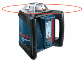 Bosch GRL500HCK - Self-Leveling Rotary Laser Complete Kit
