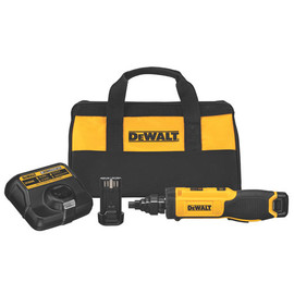 DeWALT -  8V MAX Electricians Reamer/Scredwdriver w/ 2 Battery and Bag - DCF681N2