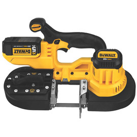 DeWALT DCS371P1 - 20V MAX Li-Ion Band Saw (5.0Ah) w/ 1 Batteries and Bag
