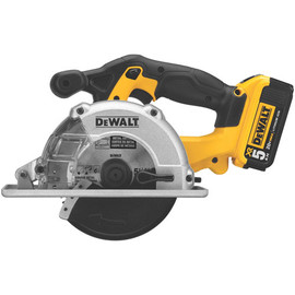 DeWALT -  20V MAX Li-Ion Metal Cutting Saw (5.0Ah) w/ 2 Batteries and Kit Box - DCS373P2