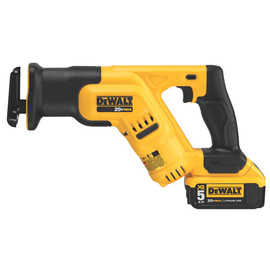 DeWALT -  20V MAX Li-Ion Compact Reciprocating Saw (5.0Ah) w/ 1 Battery and Bag - DCS387P1