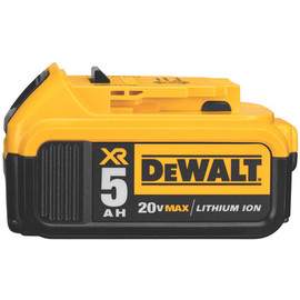DeWALT DCB205 - 20V MAX Premium XR Lithium Ion Battery Pack (5.0 Ah)