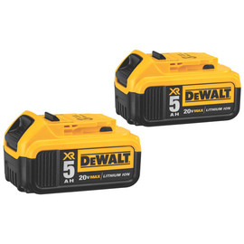 DeWALT DCB205-2 - 20V MAX Li-Ion Battery 2-Pack (5.0 Ah)