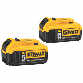 DeWALT -  20V MAX Li-Ion Battery 2-Pack (5.0 Ah) - DCB205-2