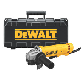 "DeWALT DWE402K - Grinder 4-1/2"" 11,000rpm 11Amp AC/DC w/ kit"