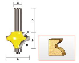 "Kempston -   Corner Bead Bit, 1/2"" & 1/4"" Radius - 304411"
