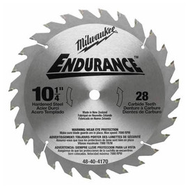Milwaukee -  CIRC SAW BL 10-1/4 28 CBD T - 48-40-4170
