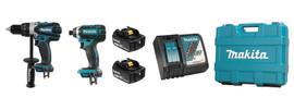 Makita DLX2015M - 18V (4.0 Ah) LXT 2 Tool Combo Kit