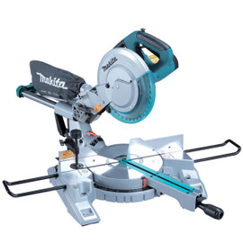 """Makita LS1017LX1 - 10"""" Sliding Compound Mitre Saw With Laser And Tool Stand"""