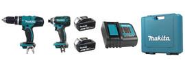 Makita LXT235S - 18V (3.0 Ah) LXT 2 Tool Combo Kit
