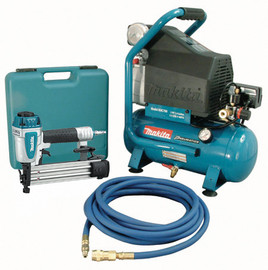 Makita MAC700-KIT3 - 2 hp Air Compressor And Brad Nailer Kit