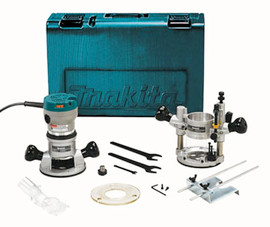 Makita RF1101KIT - 2-1/4 hp Router Kit