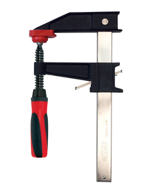Bessey GSCC3.512+2K - Clamp, woodworking, clutch style, swivel pads, 3.5 In. x 12 In., 1100 lb