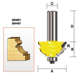 "Kempston 354031 - Multi-Molding Bit, 3/32"" Radius"