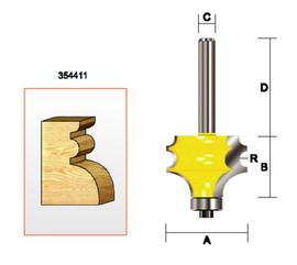 "Kempston 354411 - Multi-Molding Bit, 1/8"" Radius"